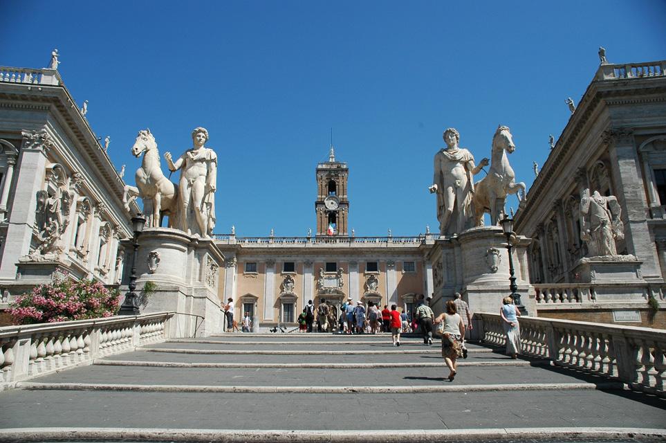 Капитолийская площадь - Арриво