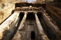 Город Dalyan и Ликийские гробницы