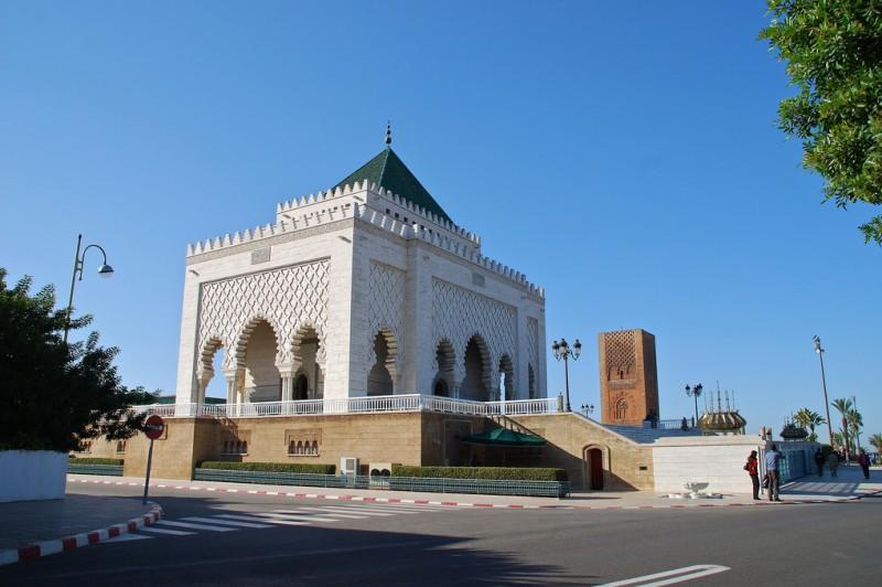 Мавзолей Мухаммеда V – Арриво