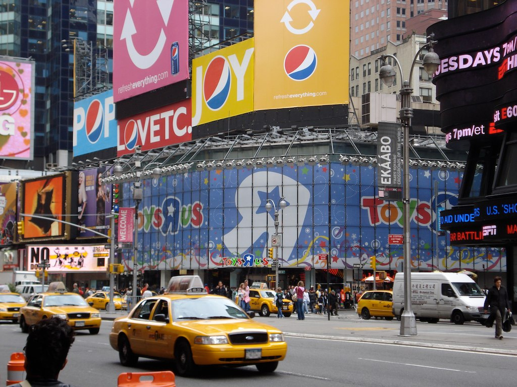 Toys r us coupons times square