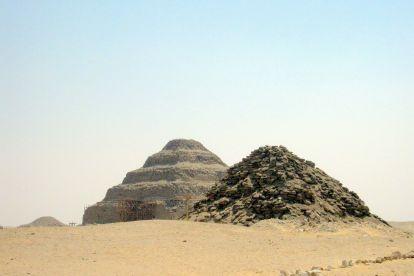 Пирамида Унаса и пирамида Тети