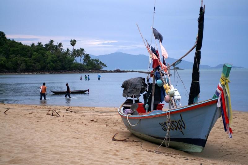 катер рыбалка самуи