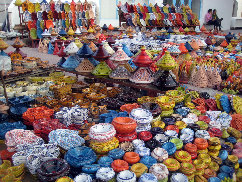 Рынок в Джербе