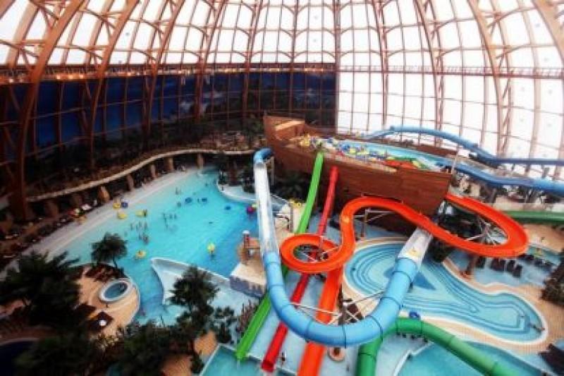 Где находятся аквапарки в санкт-петербурге